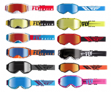 New 2020 Adult Fly Zone Goggles Motocross Enduro ATV All Colours Zone Pro
